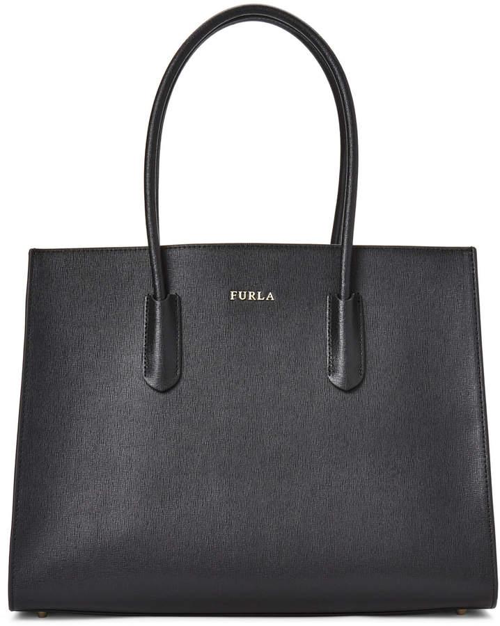 Furla Amina Medium Leather Tote