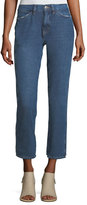 MiH Jeans Cult Mid-Rise Straight-Leg Ankle Jeans
