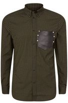 Givenchy Harness Pocket Gingham Shirt