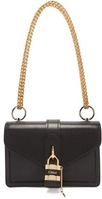 Chloé Aby Leather Shoulder Bag - Womens - Black