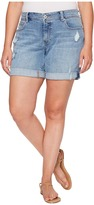 Lucky Brand Plus Size Georgia Roll Up Shorts