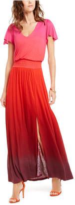 INC International Concepts Inc Flutter-Sleeve Maxi Dress