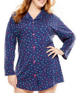 BedHead BED HEAD Bed Head Knit Long Sleeve Dots Nightshirt-Plus