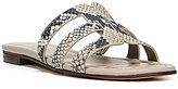 Sam Edelman Berit Snake-Print Slide-On Sandals