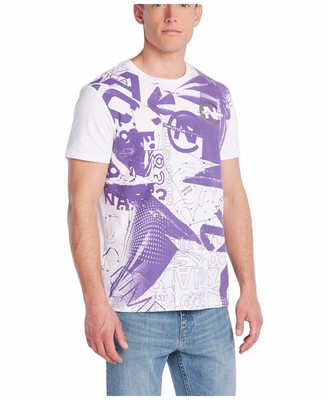 Nautica Men's Short Sleeve 100% Cotton Competition Printed Jersey T-Shirt