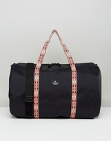 Asos Barrel Bag With Taping Detail In Black