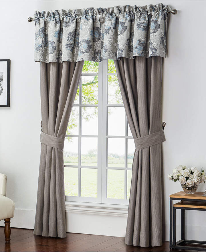 "Waterford CLOSEOUT! Blossom 21"" x 55"" Tailored Window Valance"