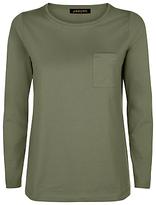 Jaeger Long Sleeve Jersey T-Shirt, Khaki