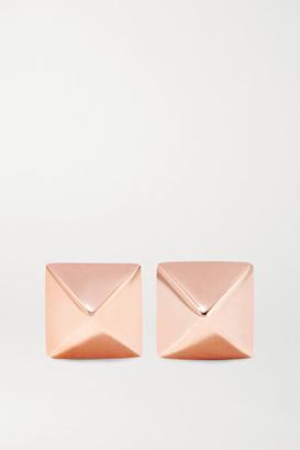 Anita Ko Spike 14-karat Rose Gold Earrings - one size