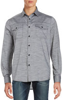 Kenneth Cole New York Heathered Sportshirt