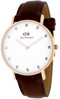 Daniel Wellington Classy St Mawes 0950DW Women's Stainless Steel Watch with Diamond Accents