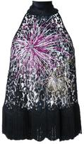 Romance Was Born 'Fireworks' lace top - women - Cotton/Nylon/Polyester - 6