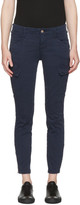 J Brand Navy Houlihan Cargo Trousers