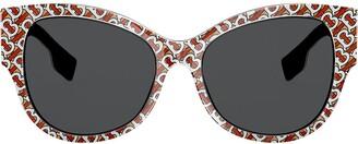 Burberry Eyewear Cat-Eye Sunglasses
