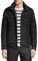 Moncler Daumier Nylon Field Jacket, Black