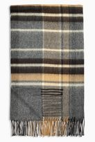 Neutral Oversized Check Scarf