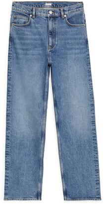 Arket STRAIGHT High-Waist Jeans