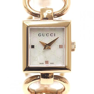 Gucci Gold Steel Watches
