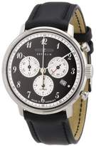 Zeppelin Men's Quartz Watch with Black Dial Analogue Display and Black Leather Strap 70862
