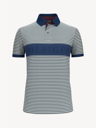 Tommy Hilfiger Slim Fit Essential Stripe Polo