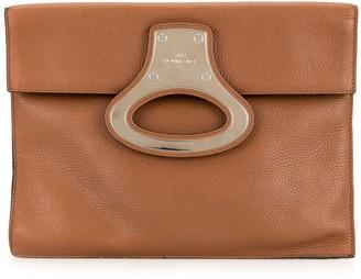 Louis Vuitton Pre-Owned Metal Applique Portfolio Clutch