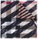 Burberry megacheck scarf