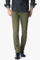 7 For All Mankind Luxe Performance Colored Denim Slimmy Slim In Olive