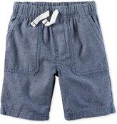 Carter's Chambray Shorts, Little Boys (2-7)