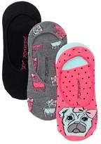 Betsey Johnson Dog Liner Socks - Pack of 3