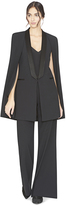 Alice + Olivia Merrie Shawl Collar Long Coat