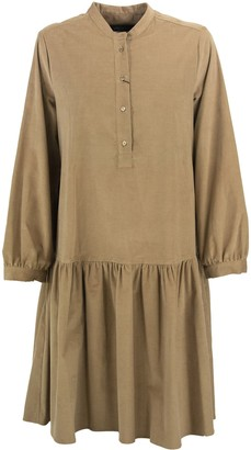 Max Mara Dudy Cotton Corduroy Dress