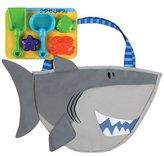Stephen Joseph Beach Totes With Sand Toy Play Set, Shark
