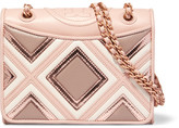 Tory Burch Fleming Medium Leather Shoulder Bag - Blush