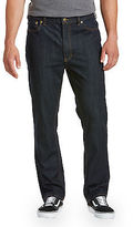 True Nation Athletic-Fit Dark Rinse Denim Jeans Casual Male XL Big & Tall