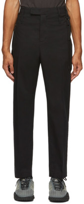 Craig Green Black Slim Uniform Trousers