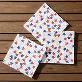 Crate & Barrel 4th Of July Lunch Napkin Set of 20