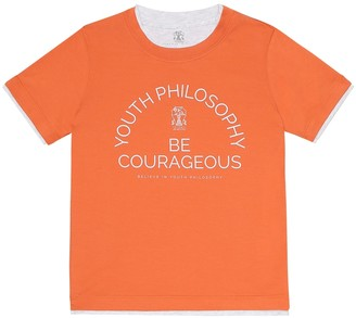 BRUNELLO CUCINELLI KIDS Exclusive to Mytheresa a Cotton-jersey T-shirt