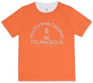 BRUNELLO CUCINELLI KIDS Exclusive to Mytheresa Cotton-jersey T-shirt