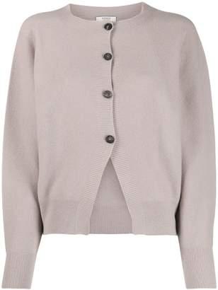 Peserico round-neck knit cardigan