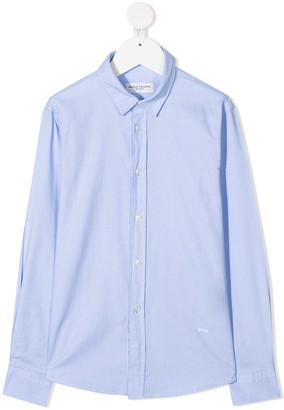 Paolo Pecora Kids Classic Collared Shirt