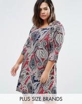 Junarose Plus Printed Dress