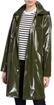 Jane Post Raincoat Trench w/ Removable Hood