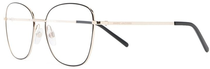 Thumbnail for your product : Marc Jacobs Wireframe Round-Frame Glasses