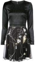 Thomas Wylde fitted floral skirt dress