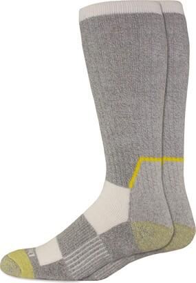 Dickies Men's Big & Tall Kevlar Reinforced Steel Toe Crew Socks