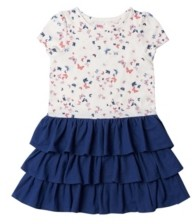 Epic Threads Toddler Girls Short Sleeve All Over Print Tutu Dress