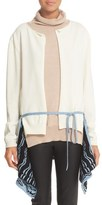 Loewe Women's Layered Roll Neck Wool Sweater