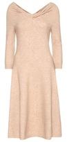 Oscar de la Renta Wool-blend Dress
