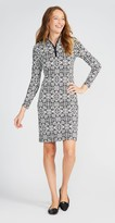 J.Mclaughlin Bedford Dress in Sugar Damask