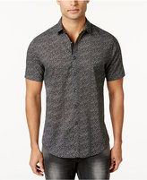 INC International Concepts Men's Micro-Geometric Print Shirt, Created for Macy's